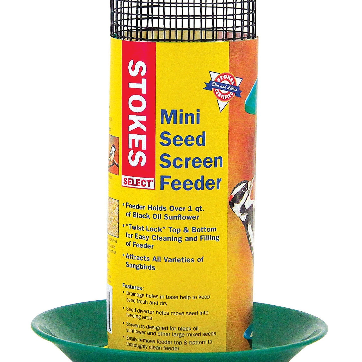 Mini Seed Screen Feeder