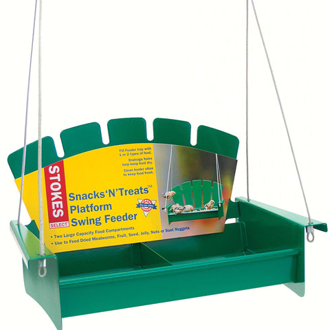 Snacks'N'Treats Platform Swing Feeder