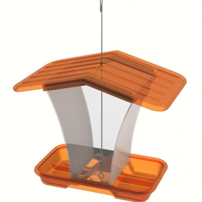 Small Hopper Feeder Purple or Orange