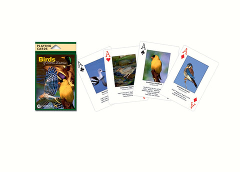 North American Birds Playing Cards