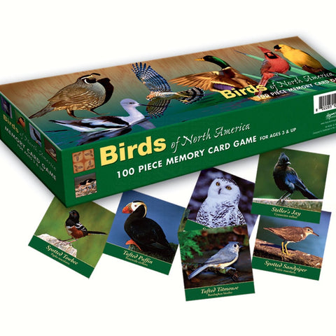 Birds North America Memory Game