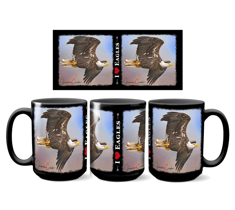 I Love Eagles Mug