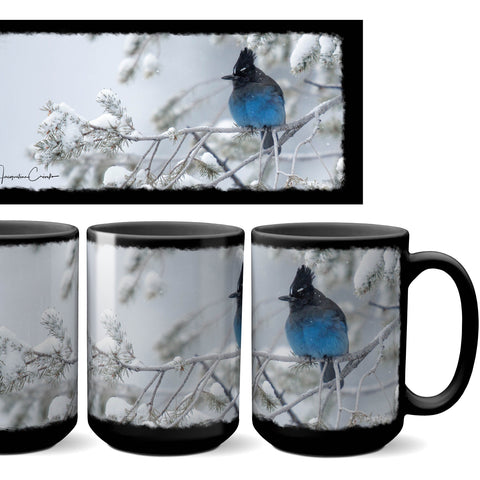 Stellar's Jay Snow Day Mug