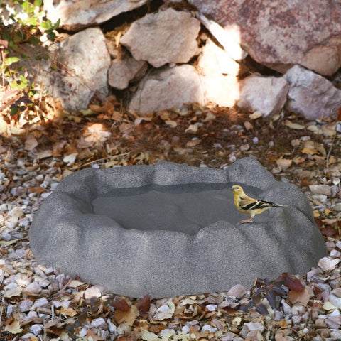 Heated Thermo-Birdbath - Gray