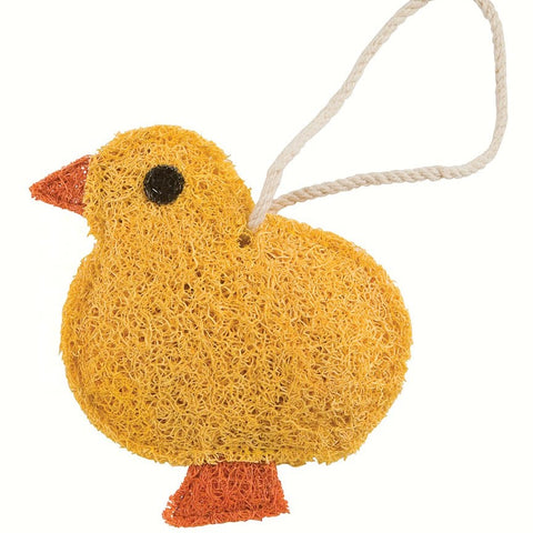 Baby Chick Natural Loofah Scrubber