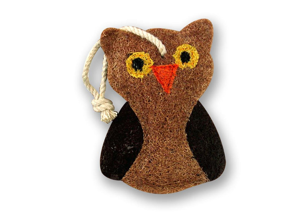 Owl Natural Loofah Scrubber
