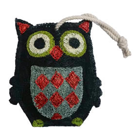 Black Owl Natural Loofah Scrubber