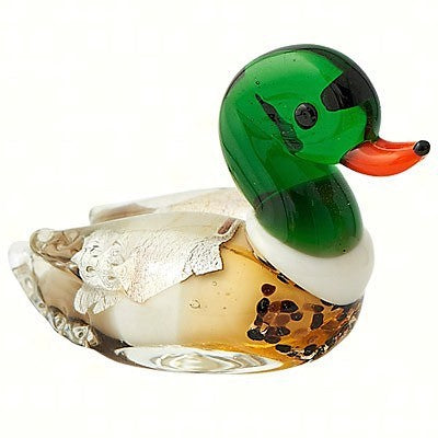 Milano Art Duck Glass Animal