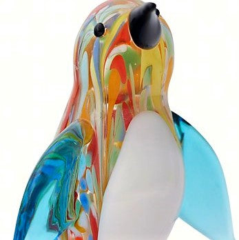 Milano Art Venetian Penguin Glass Animal