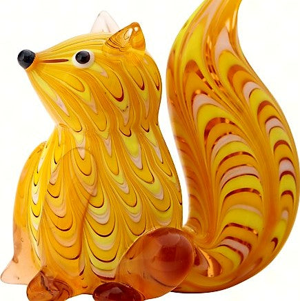 Milano Art Squirrel Glass Animal