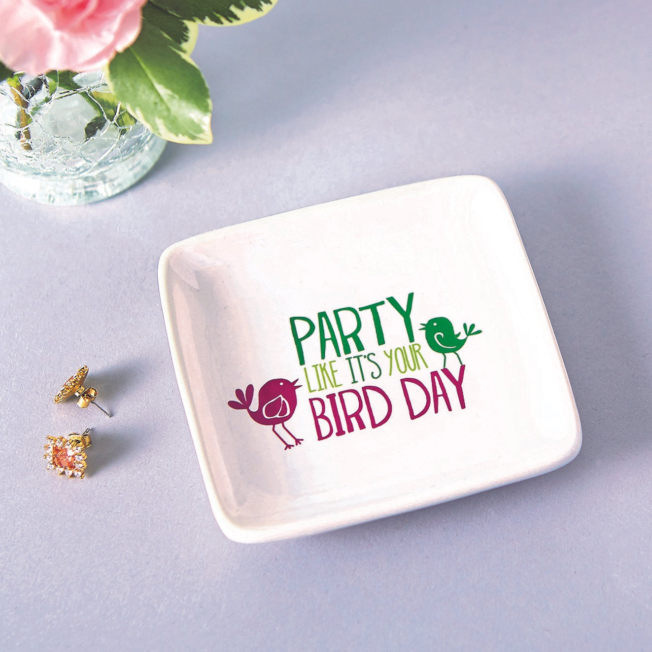 Bird Day Trinket Dish