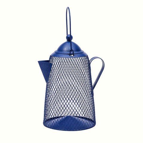 NO NO Coffee Pot Mesh Bird Feeder