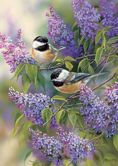 35 Piece Chickadee Duo Tray Puzzle