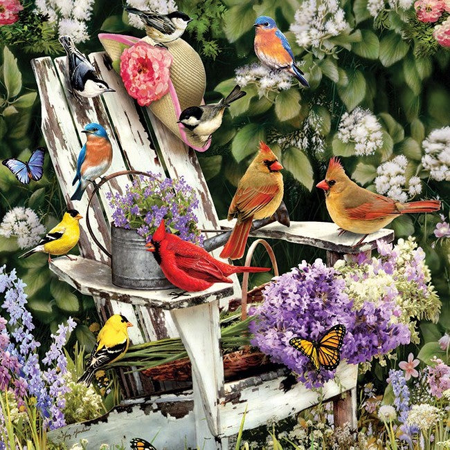 1000 Piece Summer Adirondack Birds Puzzle