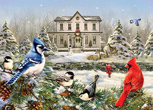 1000 Piece Country House Birds Puzzle