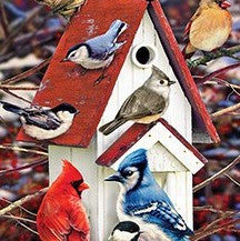 1000 Piece Winter Birdhouse Puzzle