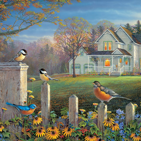 1000 Piece Evening Birds Puzzle