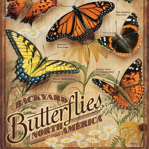 500 Piece Backyard Butterflies Puzzle