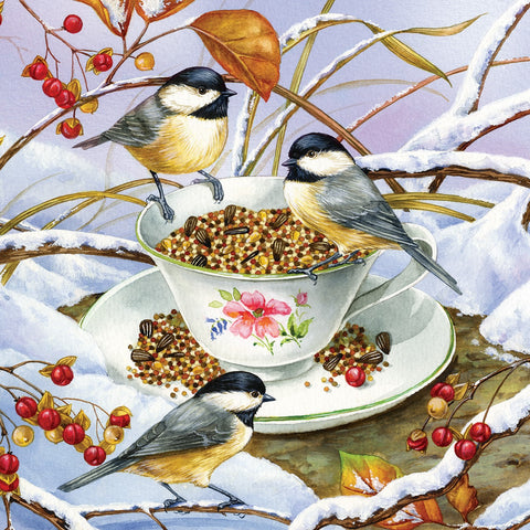 275 Piece Chickadee Tea Easy Handling Puzzle