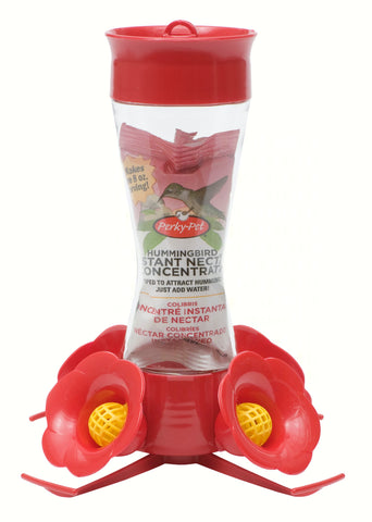 4 Fountain Feeder with Perch 8 OZ