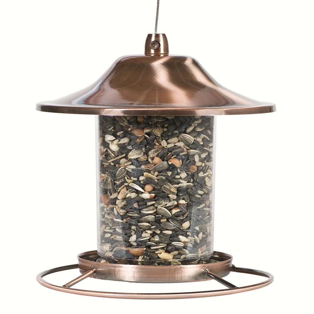Perky Pet Small Panorama Copper Feeder