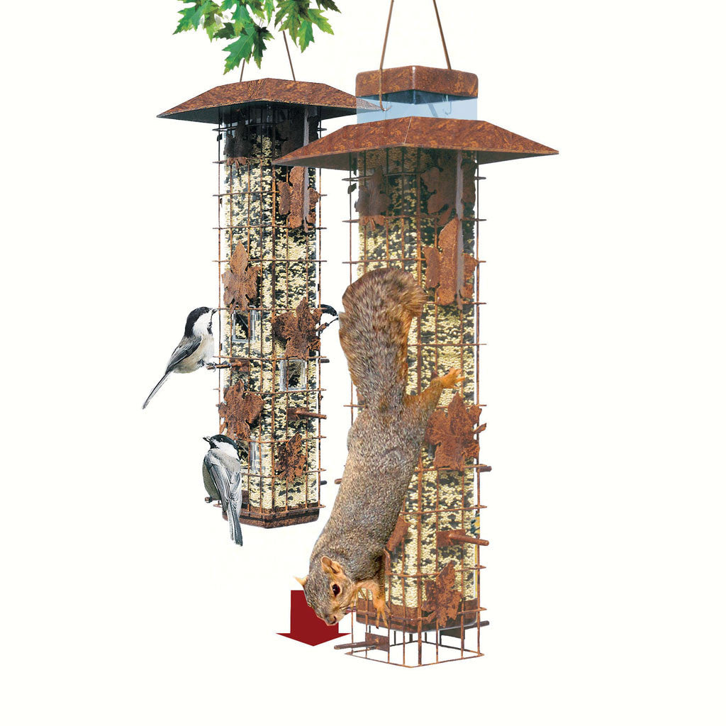 Perky Pet 3.4 LB Capacity 6 Port Weight Sensitve Bird Feeder