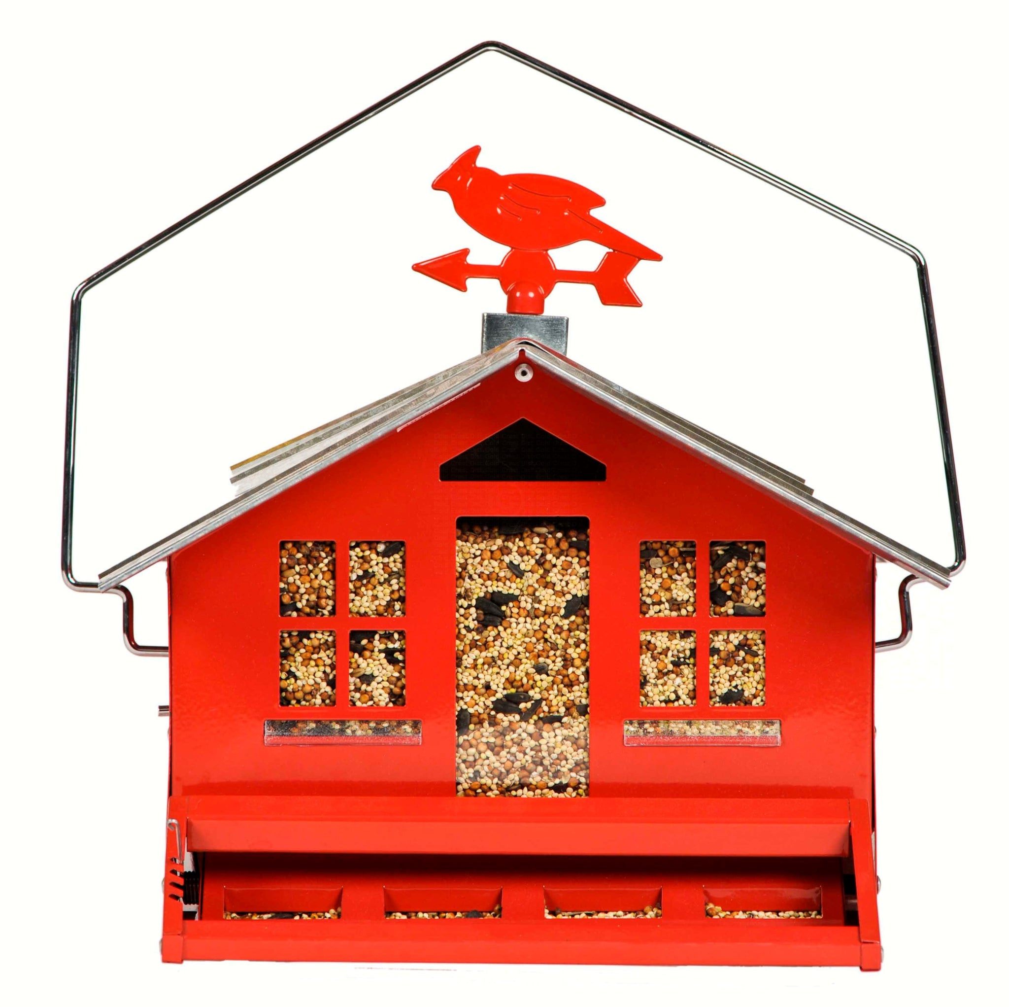 Perky Pet 12 LB Capacity Weight Activated Blocking Bird Feeder