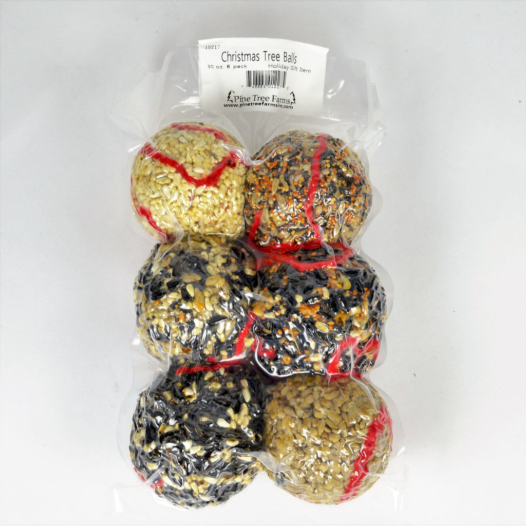 Ornament Seed Balls Pack of 6