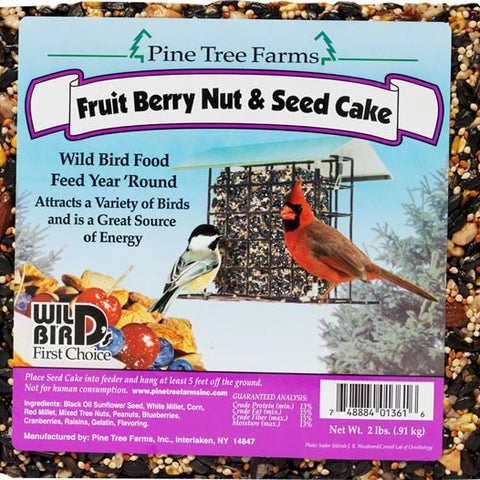 2.5 LB Fruit-Berry-Nut Seed Cake