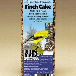 16 OZ Finch Seed Cake