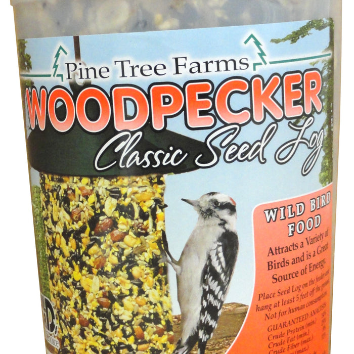 40 OZ Woodpecker Seed Log
