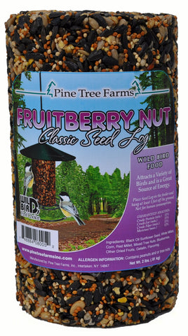32 OZ Fruit Berry Nut Seed Log