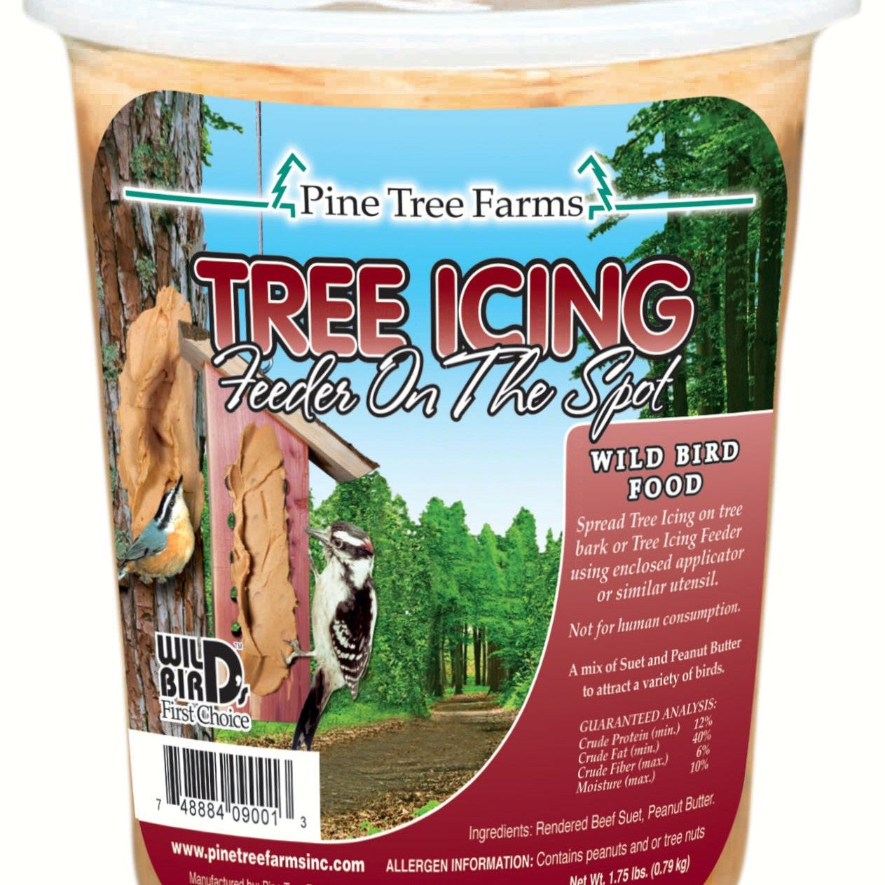 28 OZ Tree Icing Suet Spread