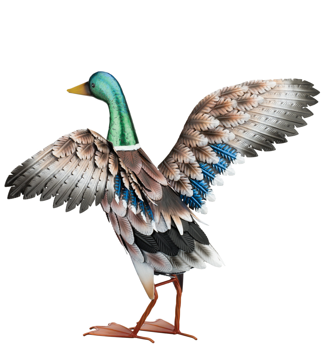 Mallard Decor Wings Out Statue