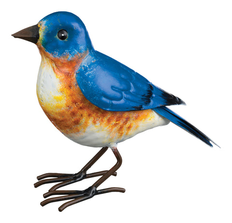 Bluebird Metal Sculpture