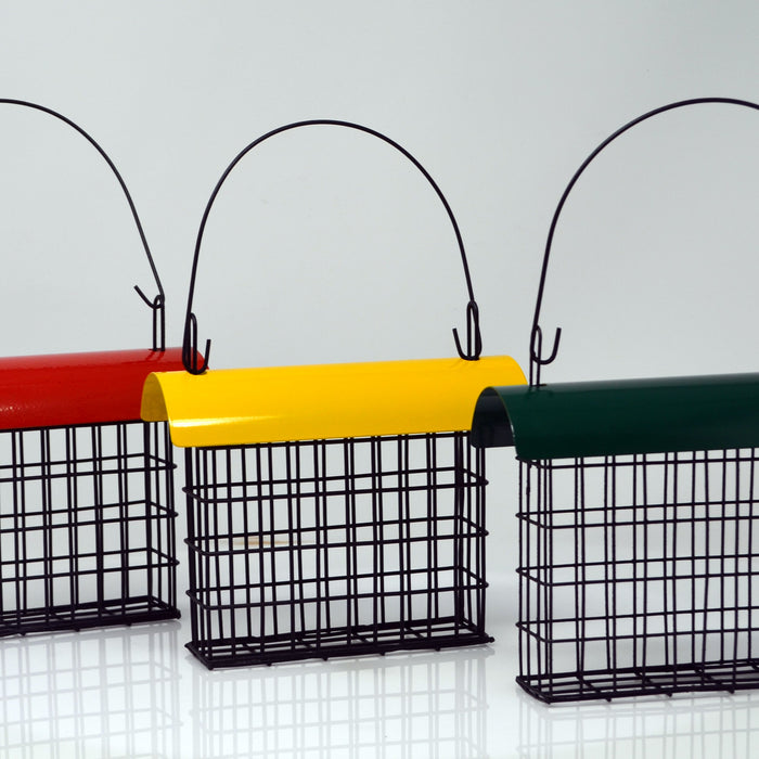 Deluxe Suet Cage With Color Metal Roof