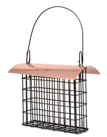 Deluxe Suet Cage With Copper Roof