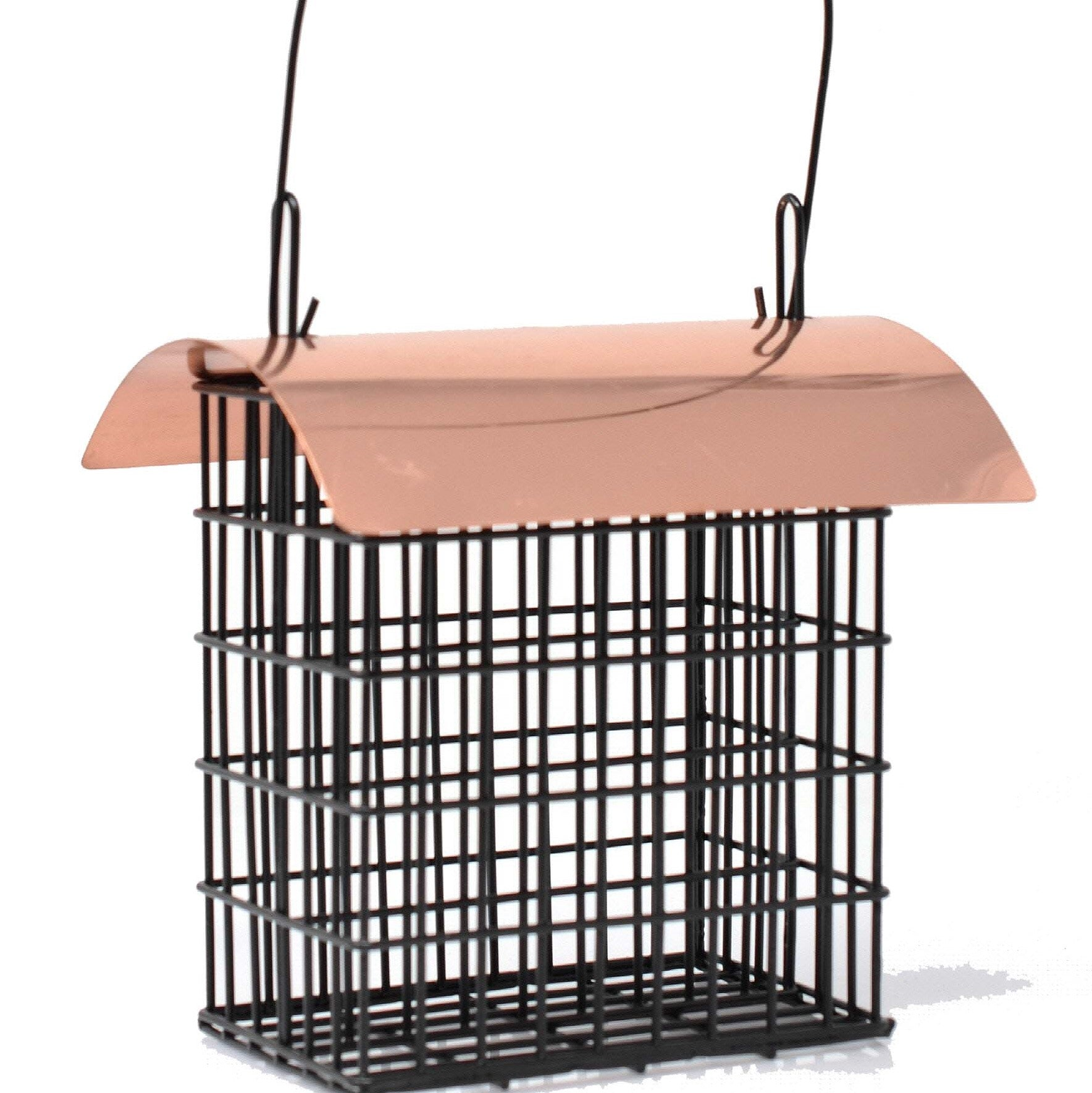 Deluxe Double Suet Cage With Copper Roof