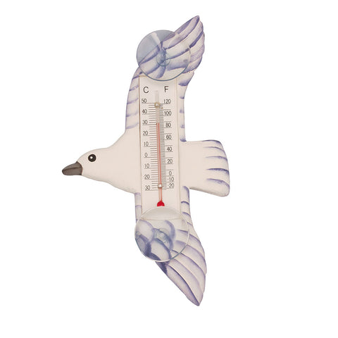 Songbird Essentials Small Seagull Window Thermometer