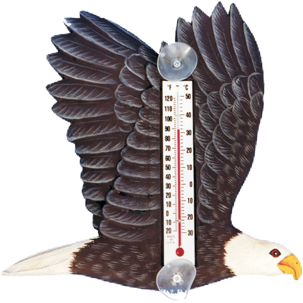 Songbird Essentials Small Eagle Window Thermometer