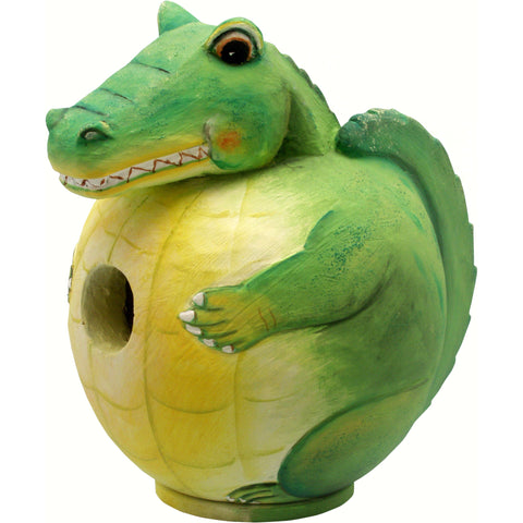 Alligator Gord-O Birdhouse