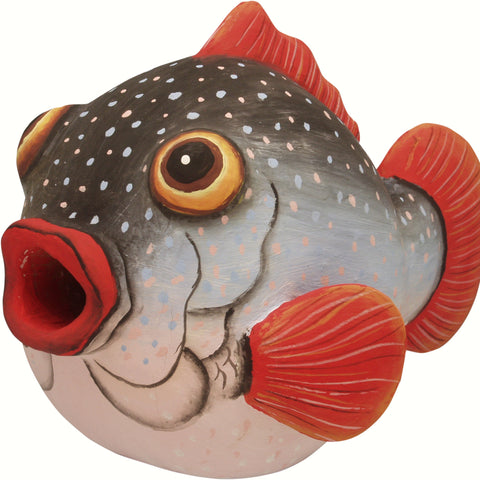 Pufferfish Birdhouse
