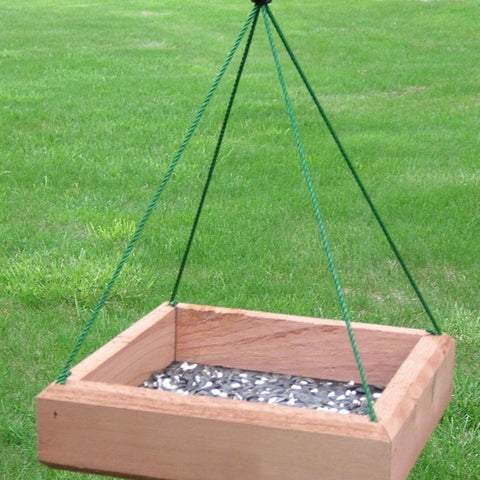 12 IN x 12 IN Hanging Tray Feeder