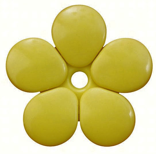 Yellow Replacement Flowers Pack of 5