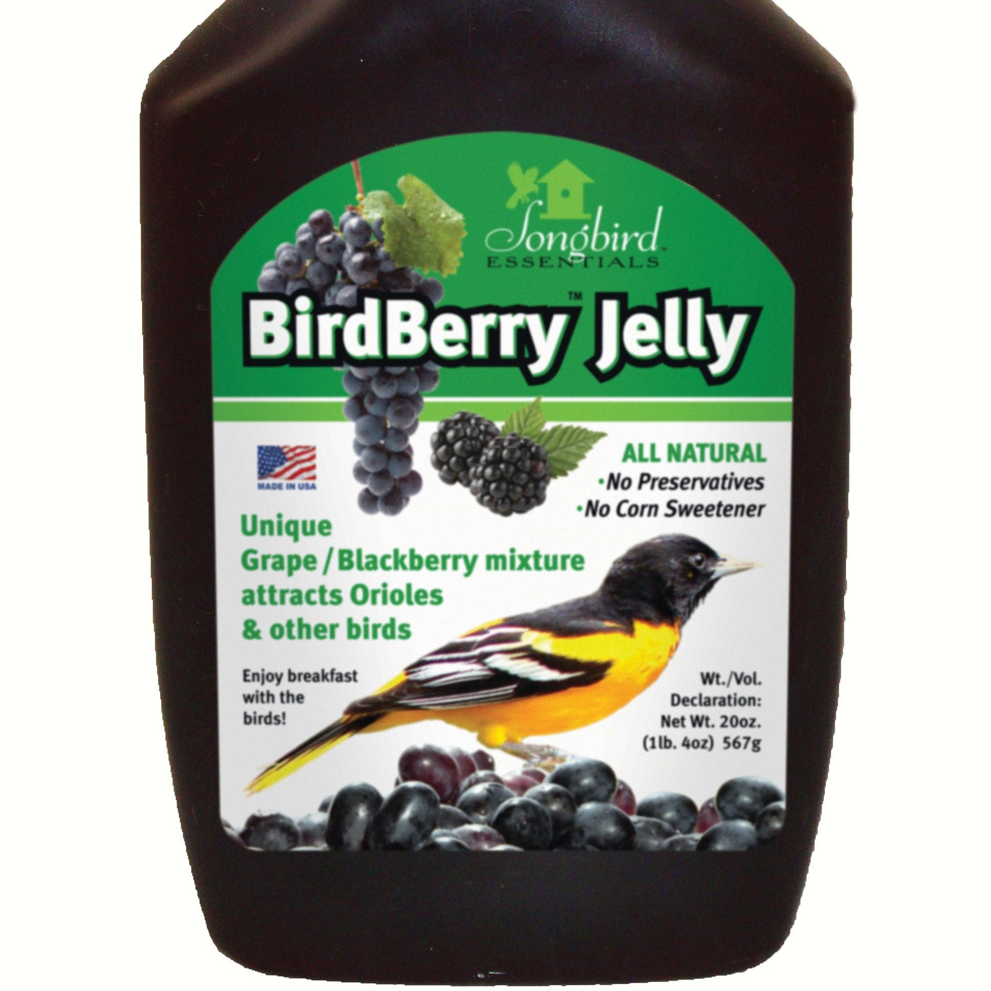 20 OZ Birdberry TM Jelly