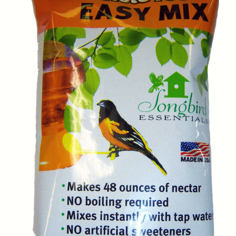 8 OZ /Makes 48 OZ All Natural Oriole Nectar