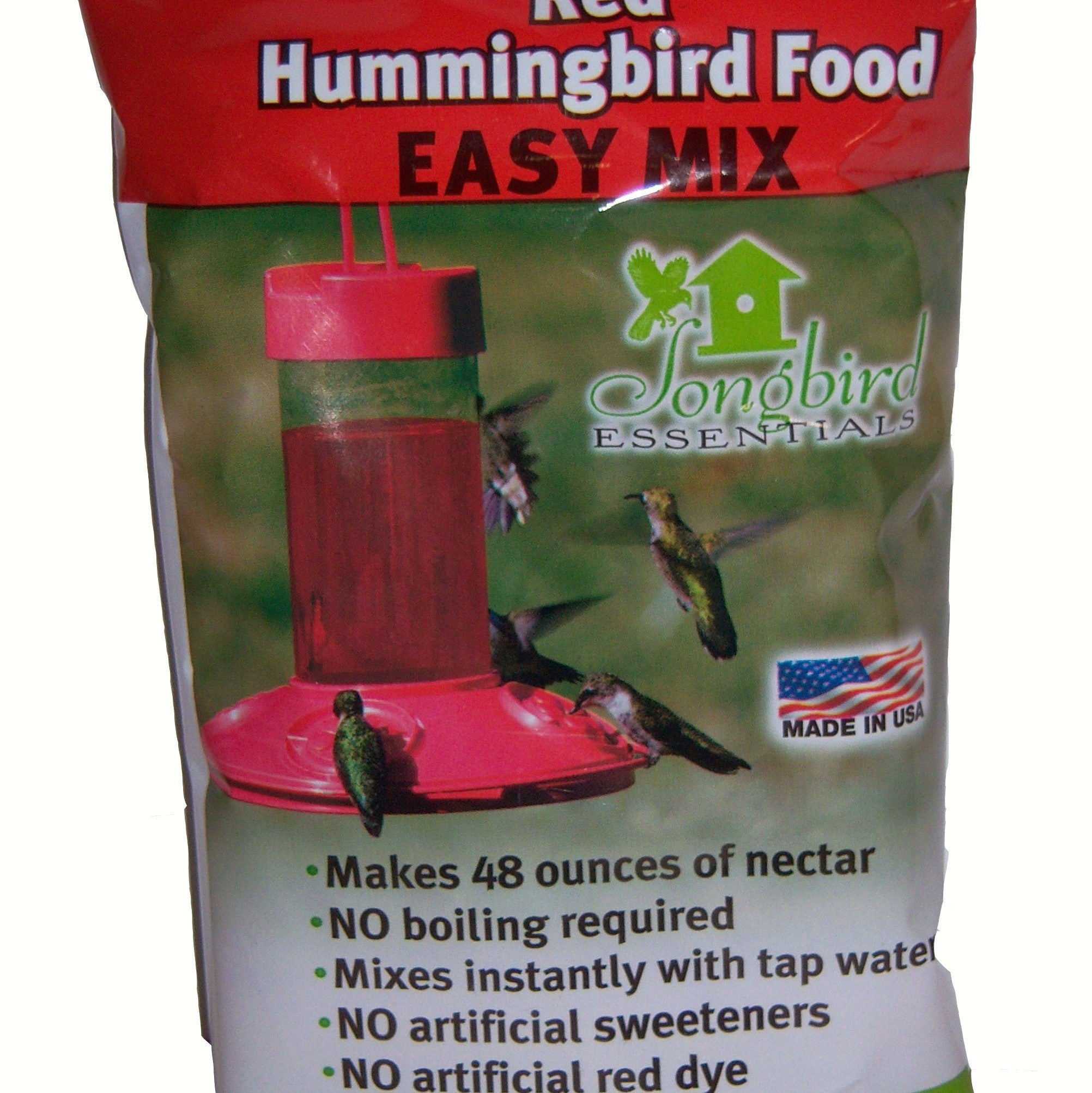8 OZ Red All Natural Hummingbird Nectar