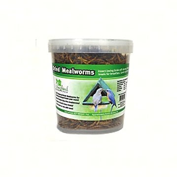 Songbird Essentials 7 OZ Tub of Dried Mealworms