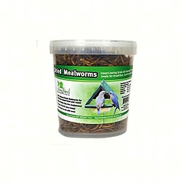 10 OZ. Tub of Dried Mealworms