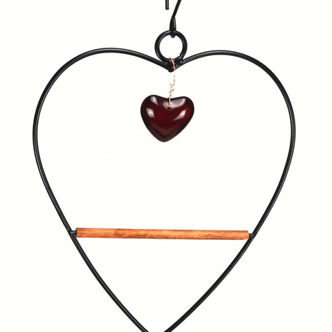 Tweet Heart Birdie Swing Black